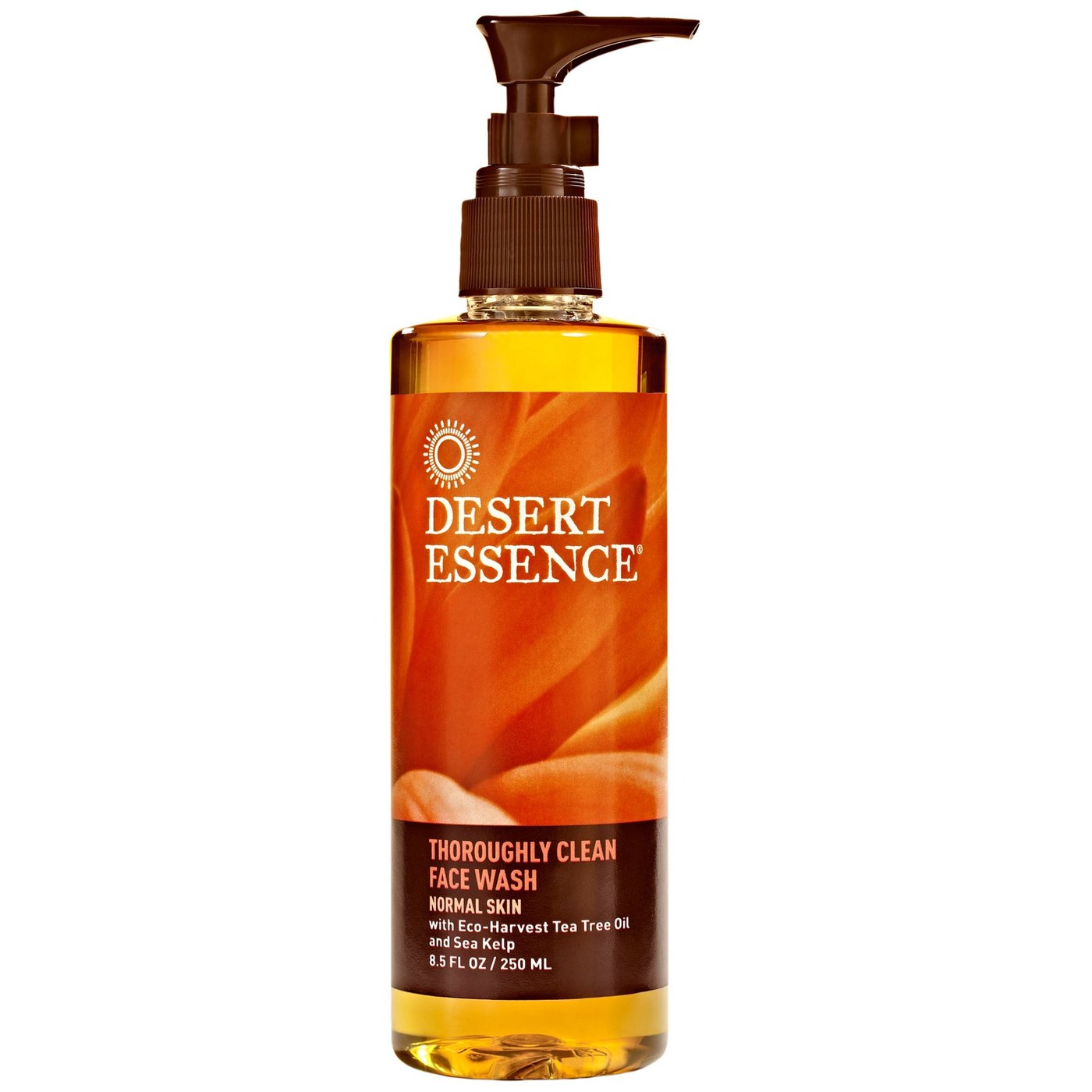 Desert Essence Thoroughly Clean Face Wash Normal Skin 8