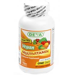 Deva Vegan Multivitamin and Mineral One Daily