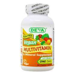 Deva Vegan Multivitamin and Mineral One Daily