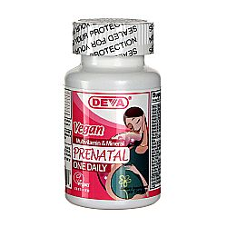 Deva Vegan Prenatal Multivitamin and Mineral One Daily