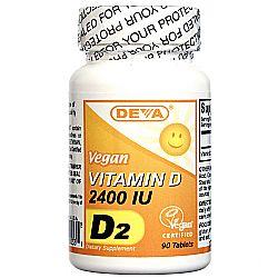 Deva Vegan Vitamin D 2-400 IU