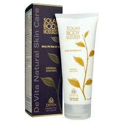 Devita Natural Skin Care Solar Body Moisturizer
