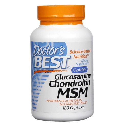 Doctor's Best Glucosamine Chondroitin MSM - 120 Capsules