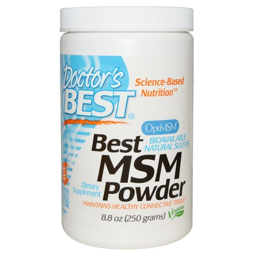 Doctor's Best MSM  - 250 g Powder - 19356_01.jpg