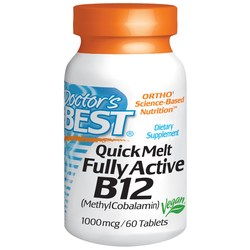 Doctor's Best Quick Melt Fully Active B12