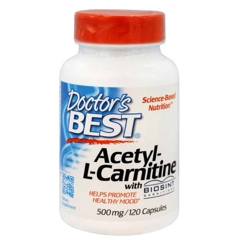 Doctor's Best Acetyl L-Carnitine - 120 Capsules - 54886_01.jpg