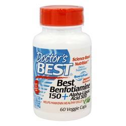 Doctor's Best Benfotiamine and Alpha Lipoic Acid