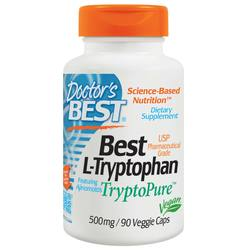 Doctor's Best L-Tryptophan 500 mg