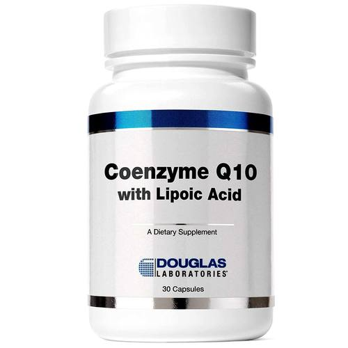 Douglas Labs Coenzyme Q10 With Lipoic Acid - 60 mg - 30 Capsules