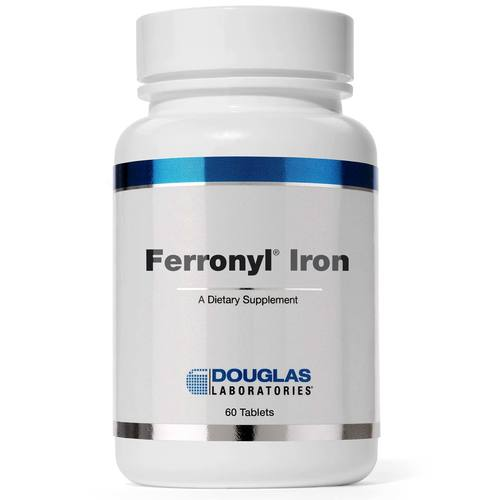 Douglas Labs Ferronyl Iron 27 mg - 60 Tablets - 113418.jpg