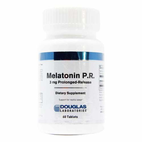 Douglas Labs Melatonin Prolonged Release - 60 Tablets - 113550_front2020.jpg