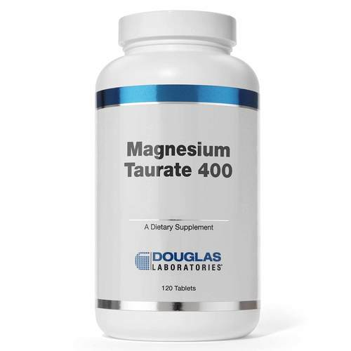 Douglas Labs Magnesium Taurate  - 400 mg - 120 Tablets - 51731_front.jpg