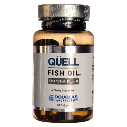 Douglas Labs Quell Fish Oil Epa And Dha Plus D 1 250 Mg