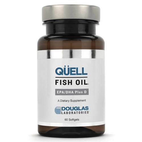 Douglas Labs Quell Fish Oil EPA and DHA Plus D - 1,250 mg - 30 Softgels - 51736_front.jpg