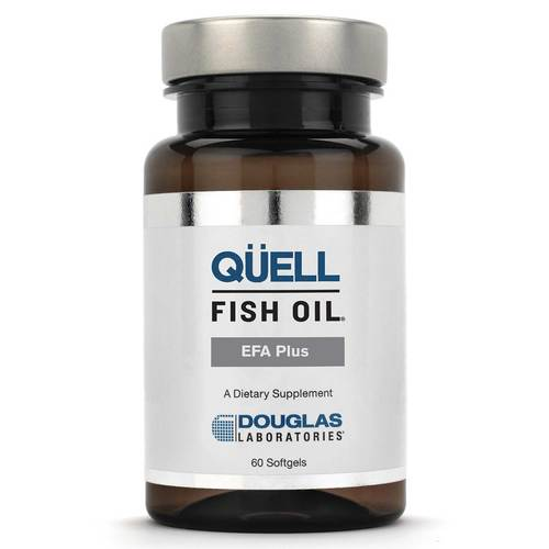 Douglas Labs Quell Fish Oil EPA and DHA Plus D  - 1,250 mg - 60 Softgels - 51748_front.jpg