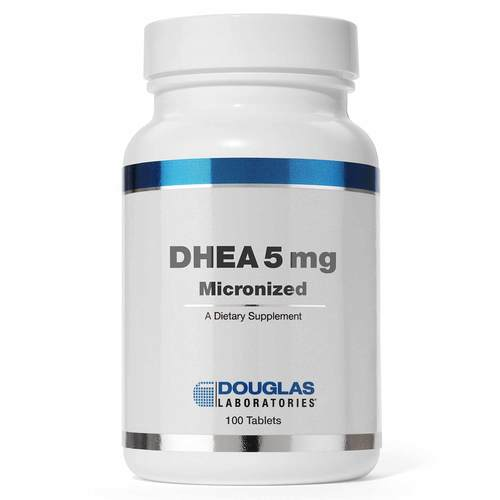 Douglas Labs DHEA 5 mg micronisé 100 Tabs - 69936_front.jpg