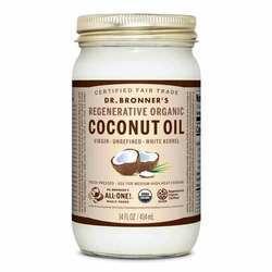 Dr. Bronner's Fair Trade Organic White Virgin Coconut Oil