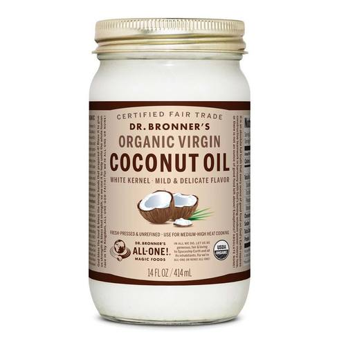 Fair Trade Organic White Virgin Coconut Oil