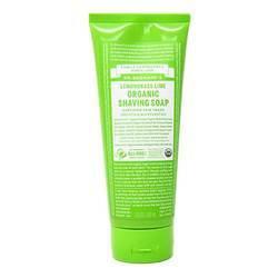 Dr. Bronner's Organic Shaving Soap Lemongrass Lime