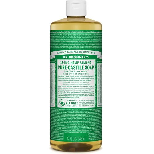 Almond Oil Pure Castile Soap
