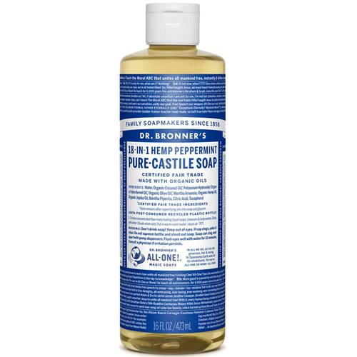 Dr. Bronner's Peppermint Oil Pure Castile Soap Peppermint - 16 fl oz - 5012.jpg