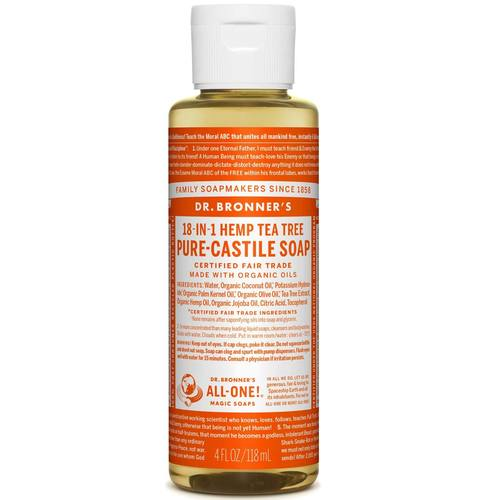 Tea Tree Oil Pure Castile Soap