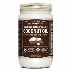Dr. Bronner's Fair Trade Organic Whole Virgin Coconut Oil