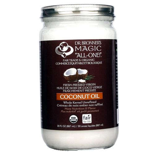 Fair Trade Organic Whole Virgin Coconut Oil