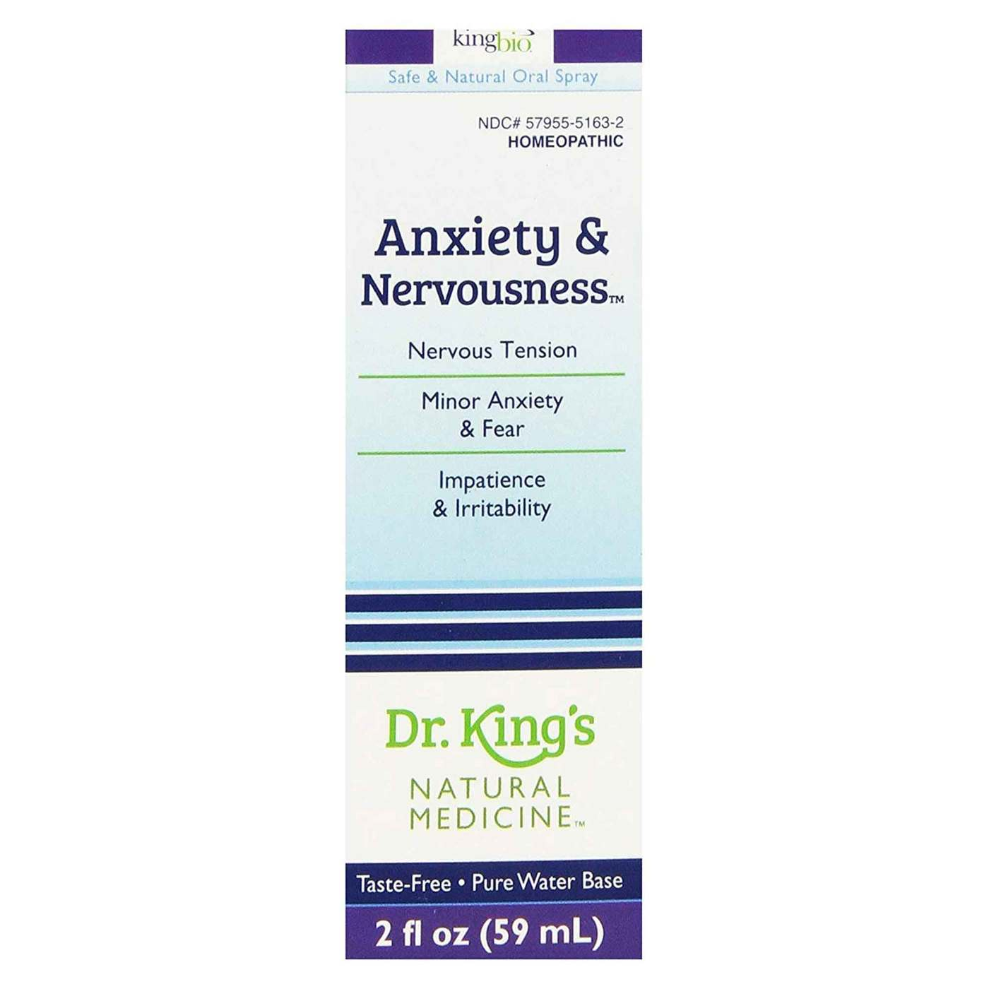 Dr  King's Anxiety and Nervousness - 2 fl oz