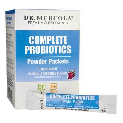 Complete Probiotics Powder Packets