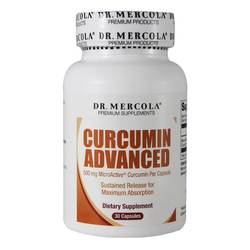Dr. Mercola Curcumin Advanced 500mg