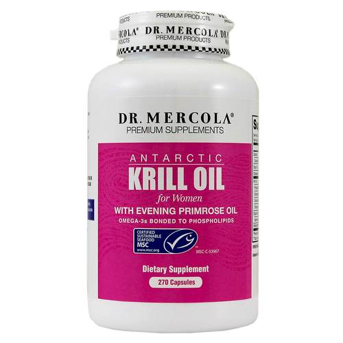 Krill Oil for Women with EPO - 3 Month Supply