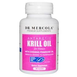 Dr. Mercola Krill Oil for Women with EPO