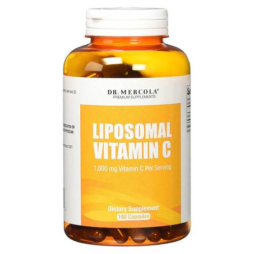 Dr. Mercola Liposomal Vitamin C - 3 Month Supply - 180 Capsules - 349229_front.jpg