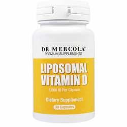 Dr. Mercola Liposomal Vitamin D 1000 IU
