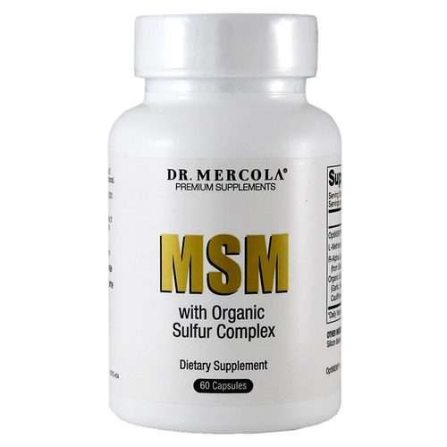 MSM with Organic Sulfur Complex