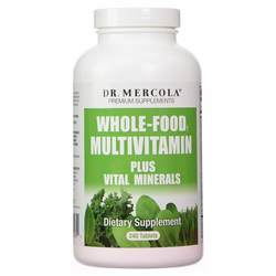 Dr. Mercola Whole Food Multivitamin Plus