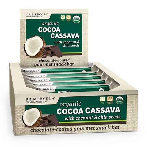 Cocoa Cassava Bars (Box)