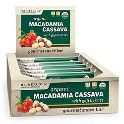 Dr. Mercola Macadamia Cassava with Goji Berries (Box)