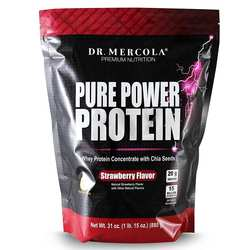 Dr. Mercola Pure Power Protein Strawberry