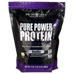 Dr. Mercola Pure Power Protein Vanilla