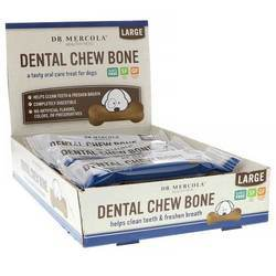 Dr. Mercola Dog Dental Chew Bones (Large Dog)