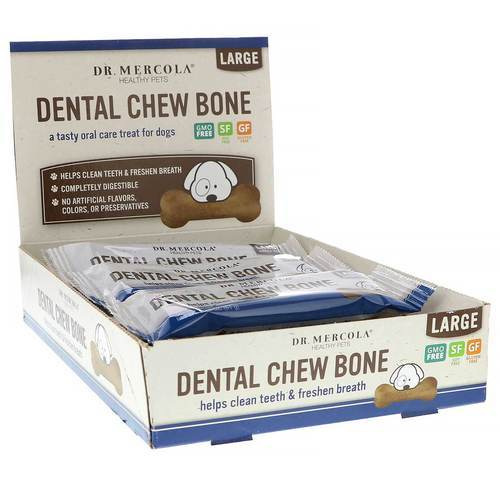 Dog Dental Chew Bones (Large Dog)