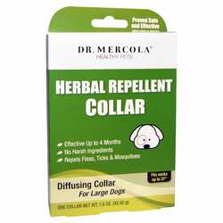 Dr. Mercola Herbal Repellent Collar For Large Dogs