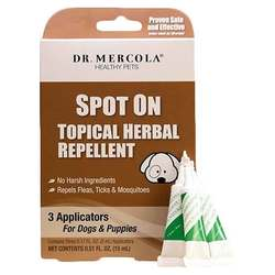 Dr. Mercola Spot on Topical Herbal Repellent for Dogs and Puppies