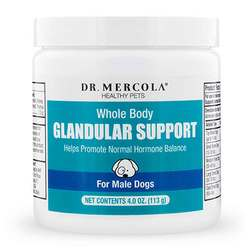 Dr. Mercola Whole Body Glandular Support for Pets For Male Dogs