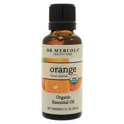 Dr. Mercola Organic Orange Essential Oil