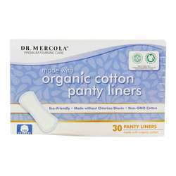 Dr. Mercola Panty Liners with Organic Cotton