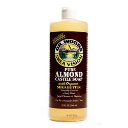 Dr. Woods Pure Almond Castile Soap
