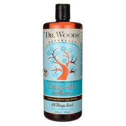 Dr. Woods Unscented Baby Mild Castile Soap